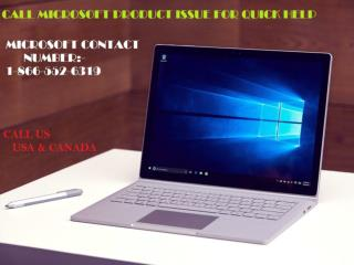 Microsoft Phone Number 1-866-552-6319 call us