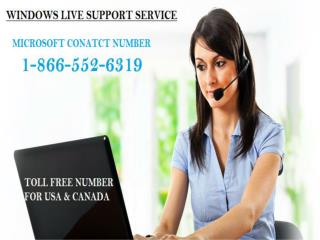 Microsoft phone Number 1-866-552-6319 support help