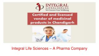 Integral Life Sciences - Pharma PCD