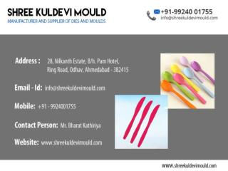 Disposable plastic Spoon Mould Manufacturer