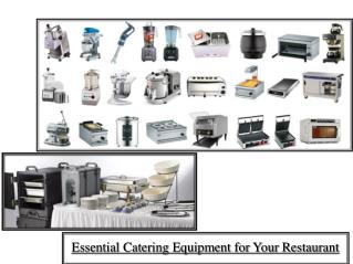 Essential Catering Equipment for Your Restaurant