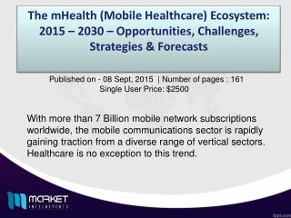 mHealth market will account for nearly $18 Billion in 2016 alone   MIR