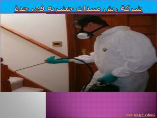 شركة رش مبيدات حشريه في جدة