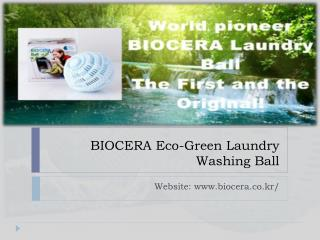 BIOCERA Eco-Green Laundry Washing Ball