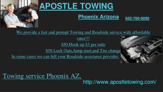 24 hour towing Phoenix AZ