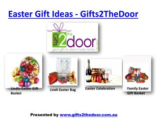 Send Easter Gifts Online to Australia - Gifts2TheDoor