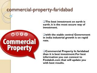 How to Invest for Commercial Property In Faridabad