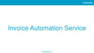Invoice Automation Services