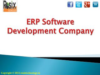 ERP software Development Company