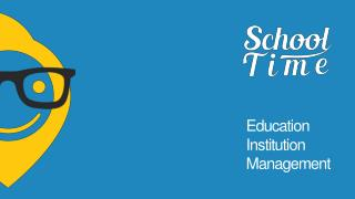 SchoolTime- School Management Software