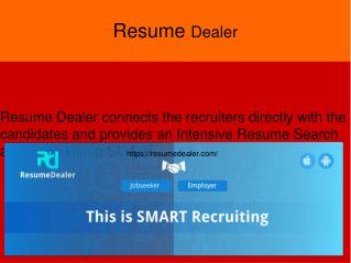 Professional Resume Writers | Resume Dealer