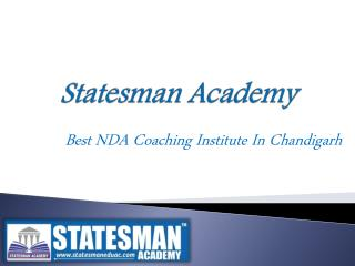 Best NDA Coaching Institute In Chandigarh