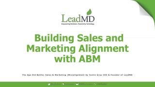 How to Build Sales & Marketing Alignment with Account-Based Marketing