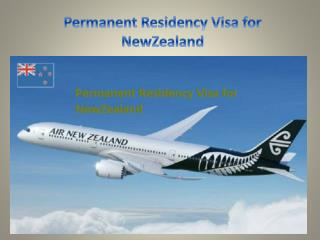 Permanent Residency visa for Newzealand