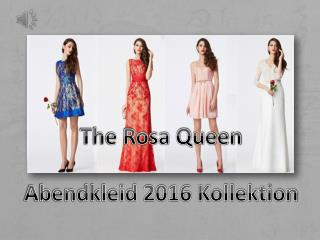 The Rosa Queen-2016 Abendkleider Kollektion-PERSUNKLEID