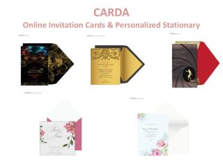 Online Wedding Cards Design