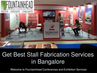 Get Best Stall Fabrication Services in Bangalore