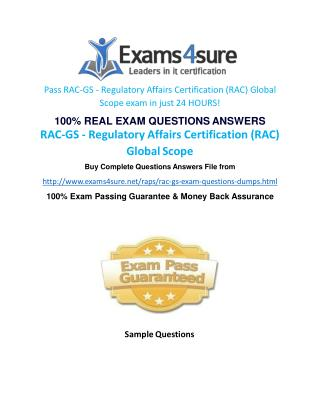 RAC GS Practice Test