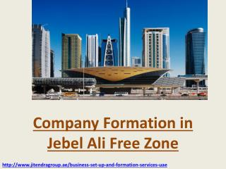 Company Formation in Jebel Ali Free Zone