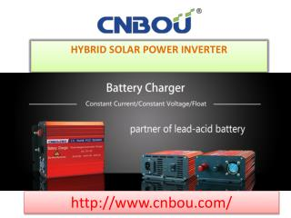 Hybrid Solar Power Inverter: CNBOU
