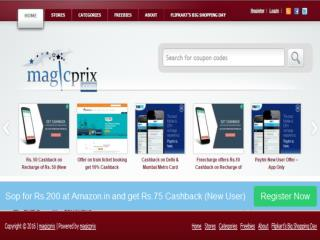 Best Deals, Offers, Coupons ,Online Mobile Recharge - Magicprix