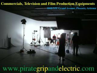 Video Production Supply, Lighting Rental, Generators, Grip Equipment and Film Production Supplies Phoenix AZ