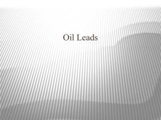 Oil Industry leads