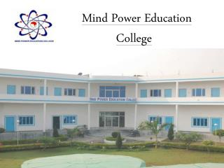 B.Ed. College in Agra