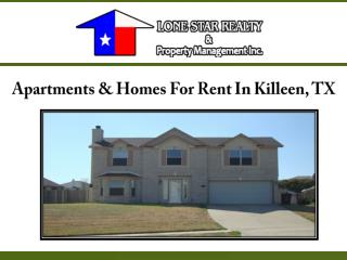 Apartments & Homes For Rent In Killeen, TX
