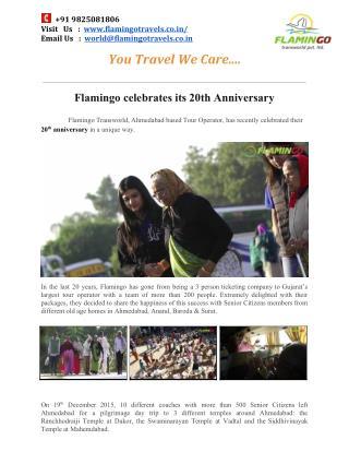 Flamingo Celebrates Its 20th Anniversary