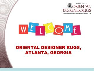 Atlanta's Best Rug Consultation & Free In-Home Trials & Expert in Rug Cleaning, Repair & Appraisals