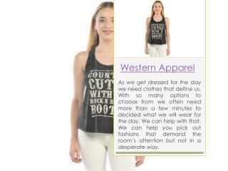 western attires