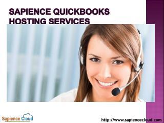 Sapience QuickBooks Hosting Services