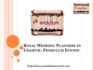 Royal Wedding Planner In Udaipur