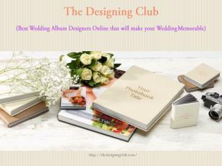 Wedding Album Design Online