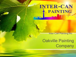 Painting Company in Oakville