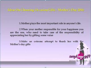 Personalised Mothers Day Gift Bangalore