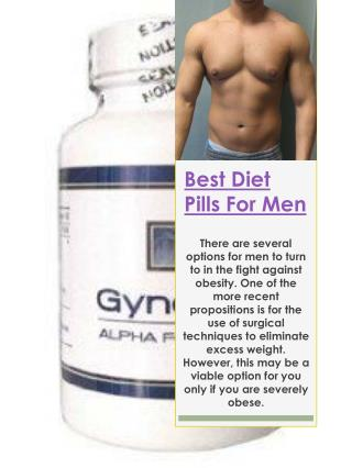 Best Diet Pills For Men