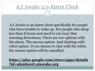 Recommended alarm clock for android