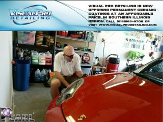 Professional Detailer Mark Barger at Visual Pro Detailing.