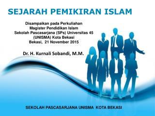 KURNALI SEJARAH PEMIKIRAN ISLAM