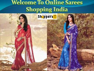 Online Shopping Latest Designer Sarees in India