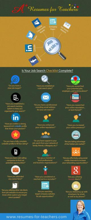 Teacher and School Administrator Career and Job Search Tips