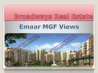 Emaar Mgf Mohali Views, EmaarMgf Mohali 2bhk Flat, EmaarMgf 3bhk Mohali