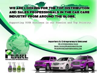 Pearl Waterless International A Detailing Products for Car Care