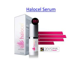 Natural Anti Aging Halocel Serum