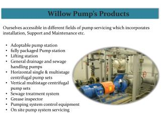 Wastewater Pumps Service in Southwest