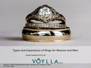 Types and Importance of Rings for Women and Men