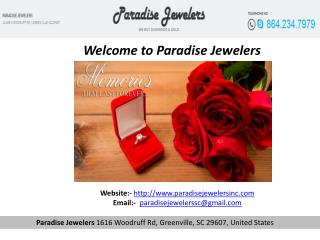 Weddings rings greenville
