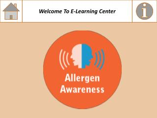 Allergen Awareness Course